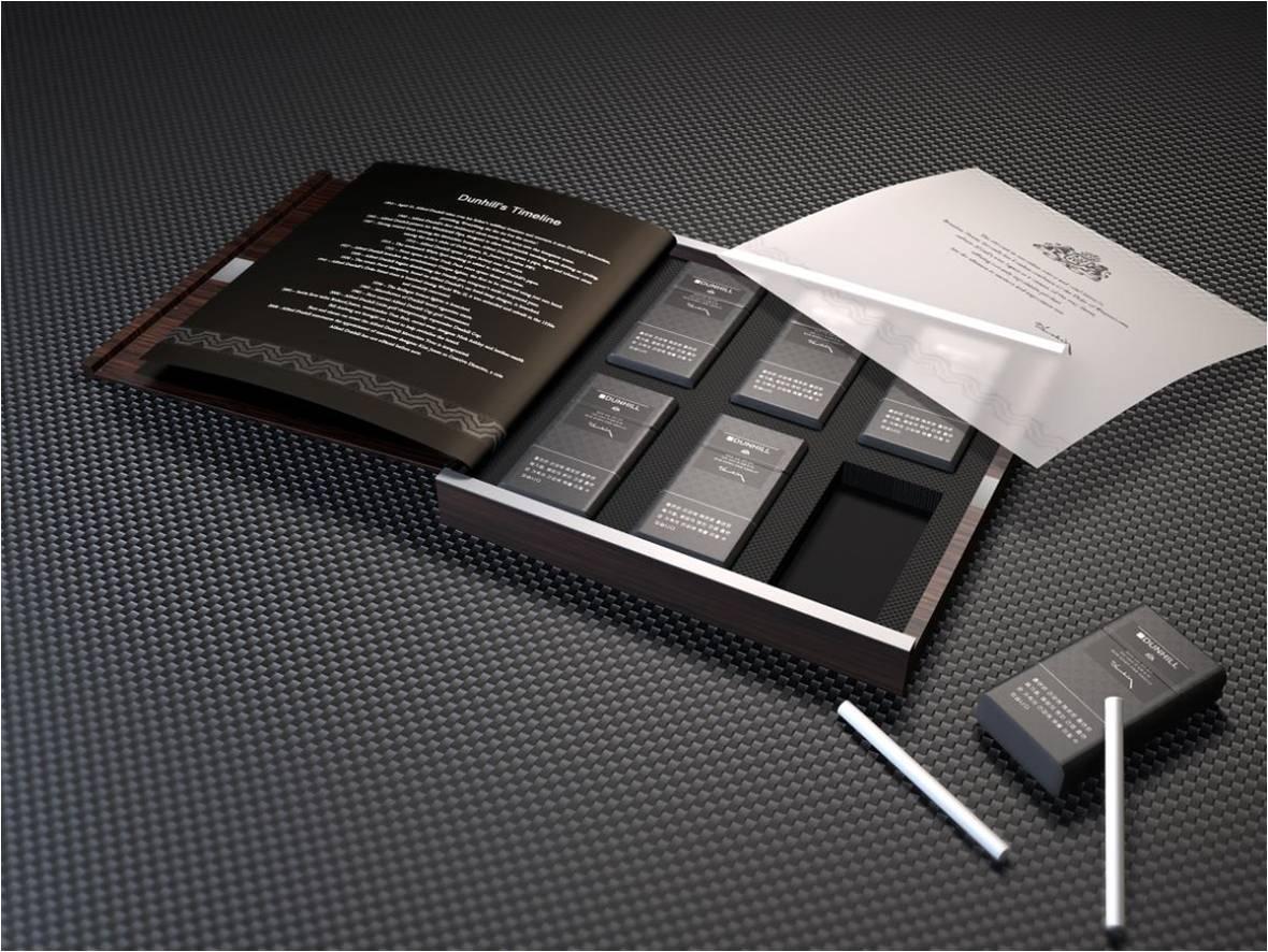 香烟平面设计图
